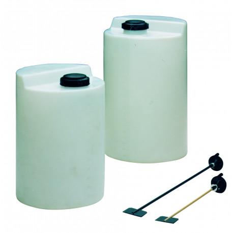 DEPOSITOS DOSIFICADORES PE 350 l (Ø 660 mm, alt. 1.165 mm)