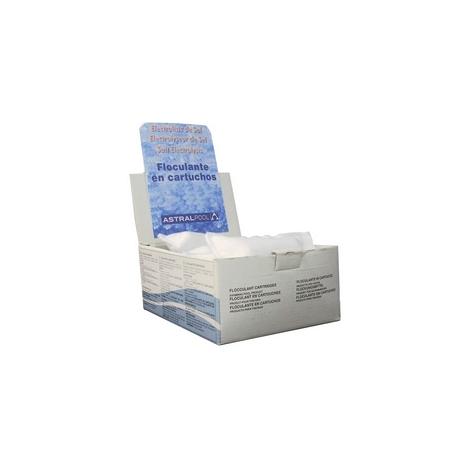 Floculante en cartucho de 100gr electrolisis de sal