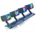 PROYECTOR QUADRALED V 2.0 MINI DMX3 PUNTO LUZ RGB