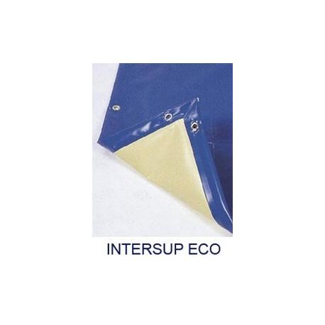"CUBIERTA INVIERNO INTERSUP AZUL/MARFIL TOP ST. PIQUETA INOXIDABLE ""P"""