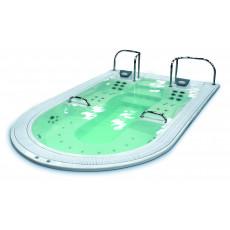 WELLMAX Jet Inox + LED color alta densidad+ Agarraderas Inox + Cubierta