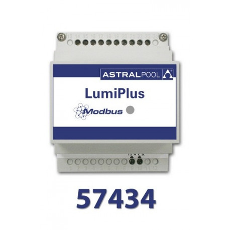 MODULADOR LUMIPLUS RGB + MÓDULO FLUIDRA CONNECT COMPATIBLE