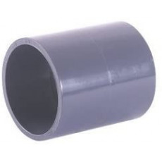 Conector de PVC liso (50 mm)