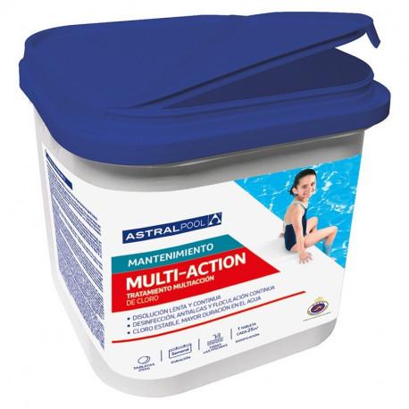 Cloro Multiacción tableta 250gr AstralPool